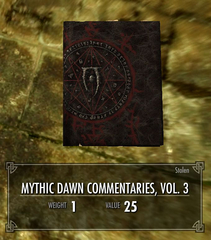 Mythic Dawn Commentaries, Vol. 3