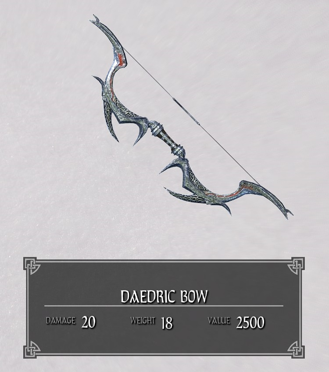 Daedric Bow
