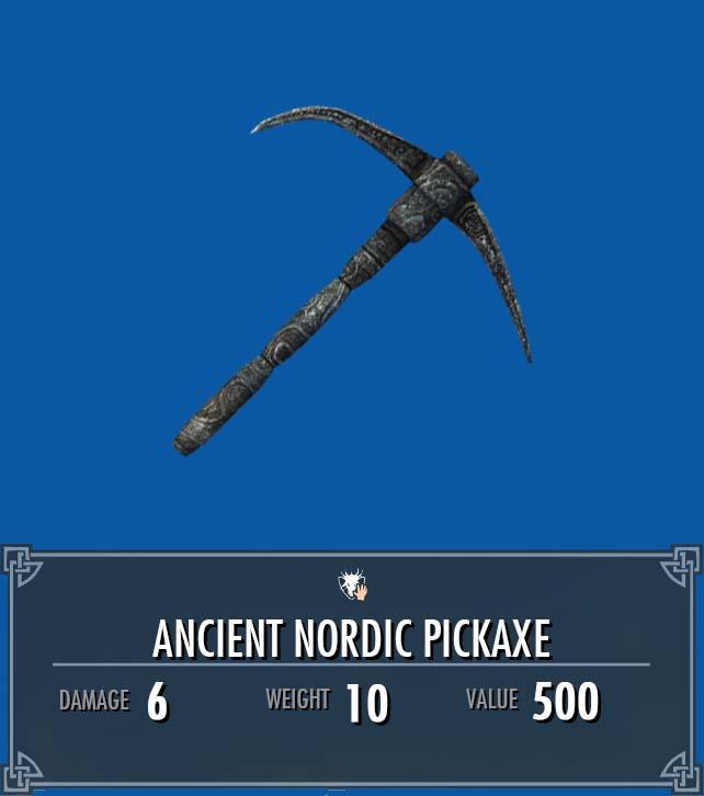 Ancient Nordic Pickaxe