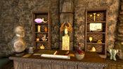 Relics Shelf-Ragged Flagon Cistern-location