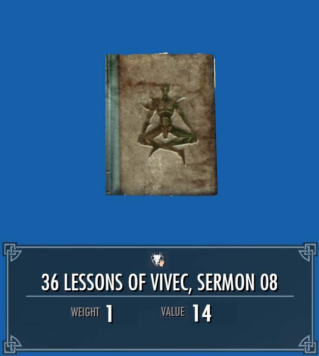 36 Lessons of Vivec, Sermon 08