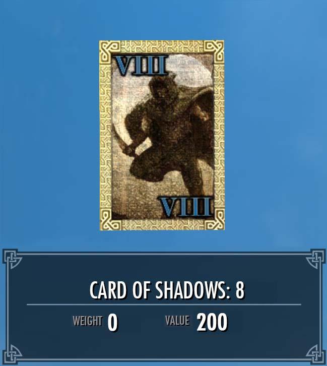 Card of Shadows: 8