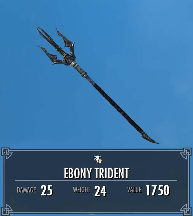 Ebony Trident