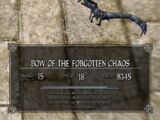 Bow of the Forgotten Chaos