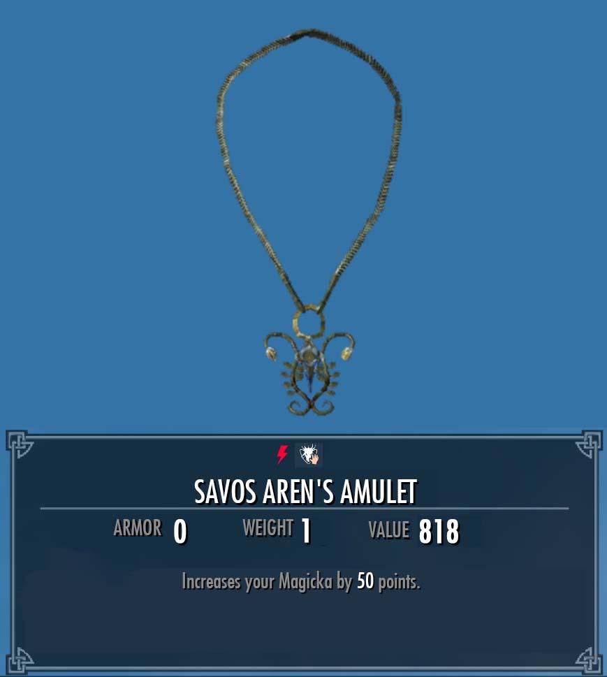 Savos Aren's Amulet