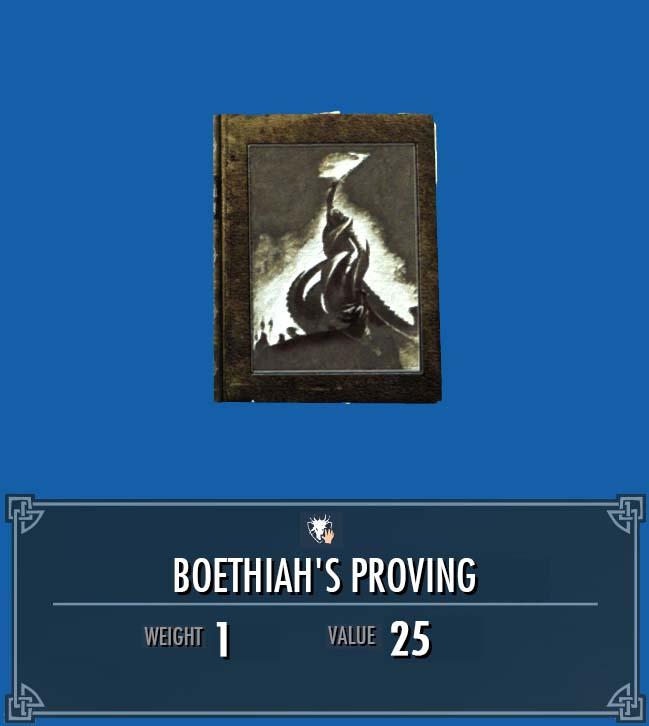 Boethiah's Proving