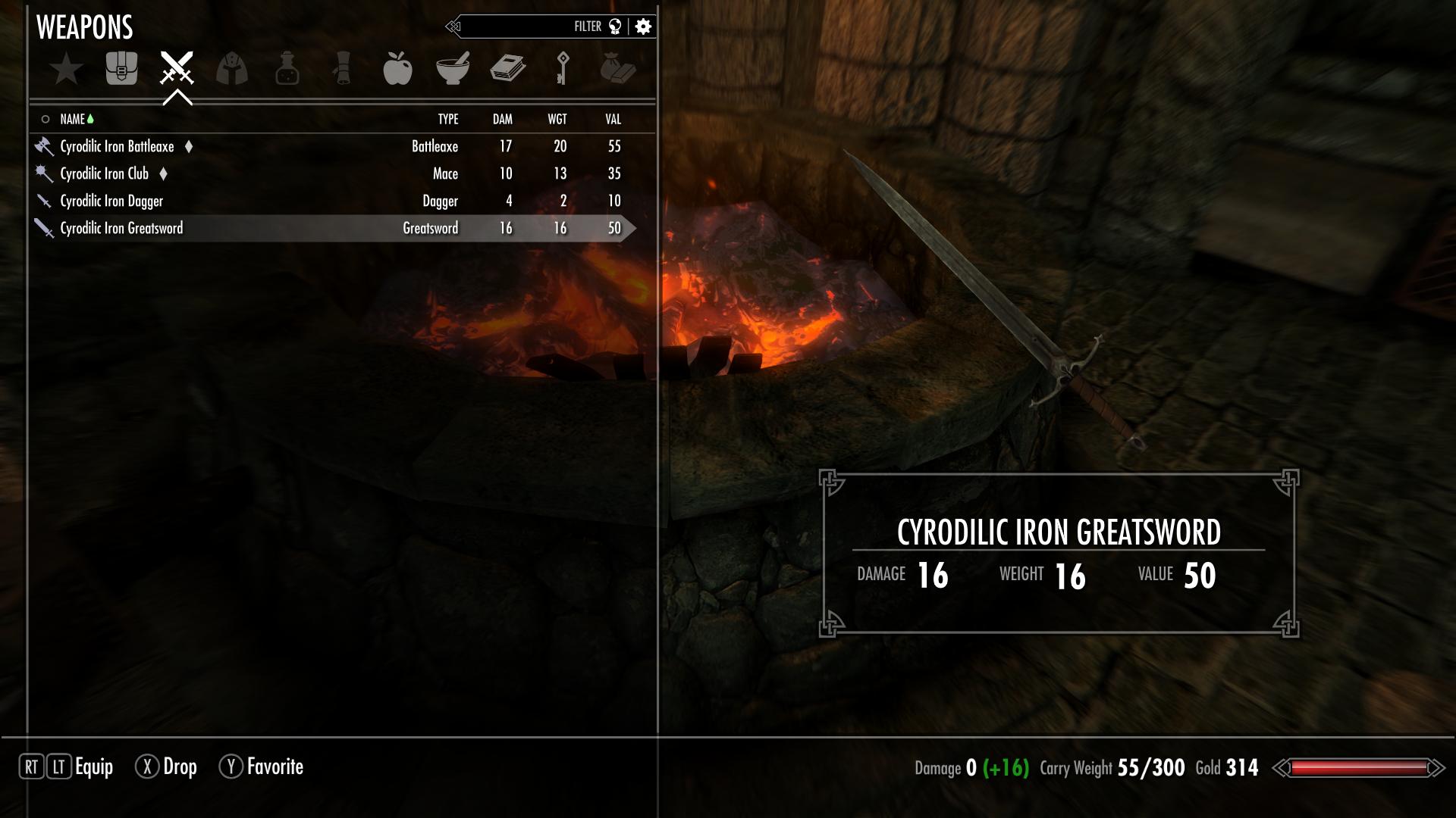 Cyrodilic Iron Greatsword
