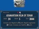 Adamantium Helm of Tohan