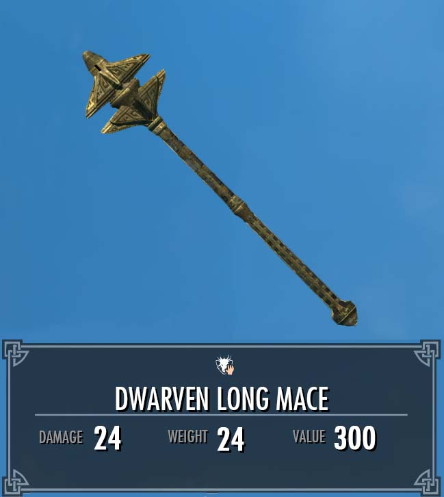 Dwarven Long Mace