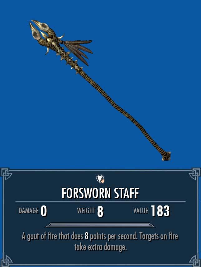 Forsworn Staff