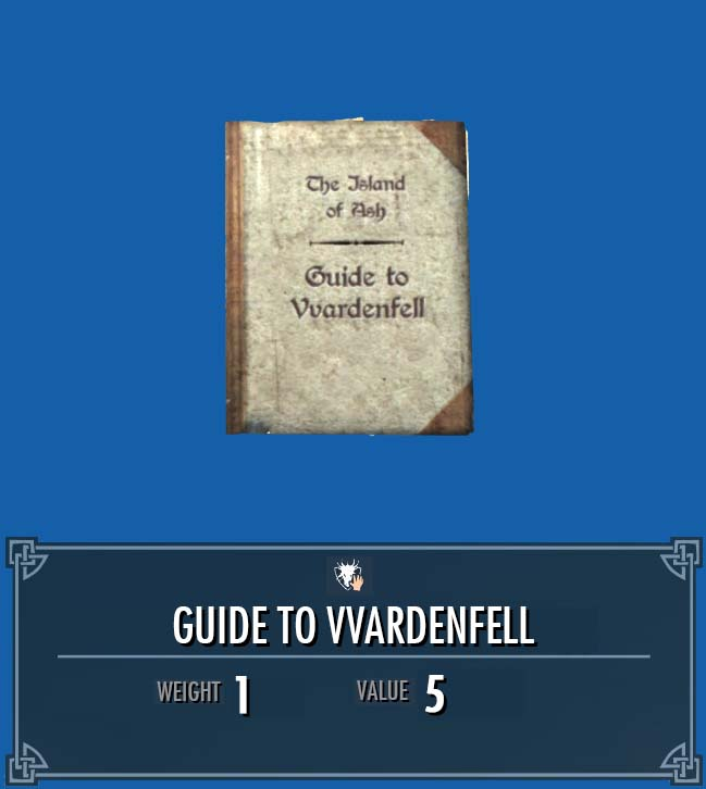 Guide to Vvardenfell