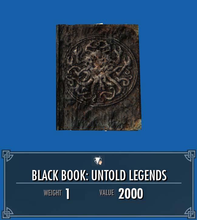 Black Book: Untold Legends