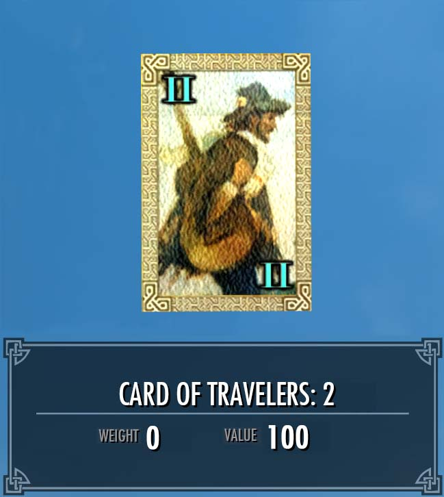 Card of Travelers: 2