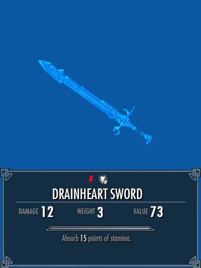 Drainheart Sword