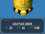 Gold Plate Armor