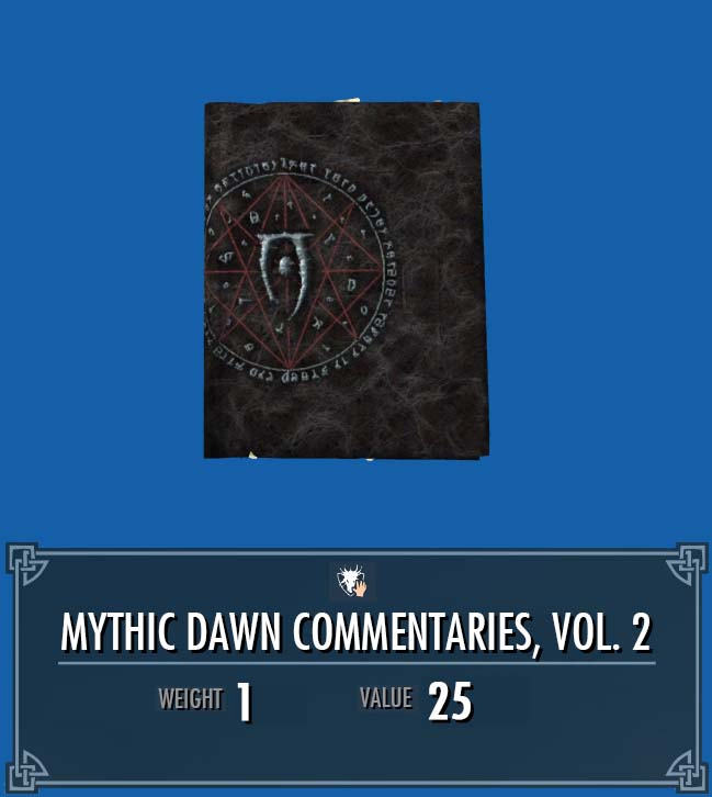 Mythic Dawn Commentaries, Vol. 2