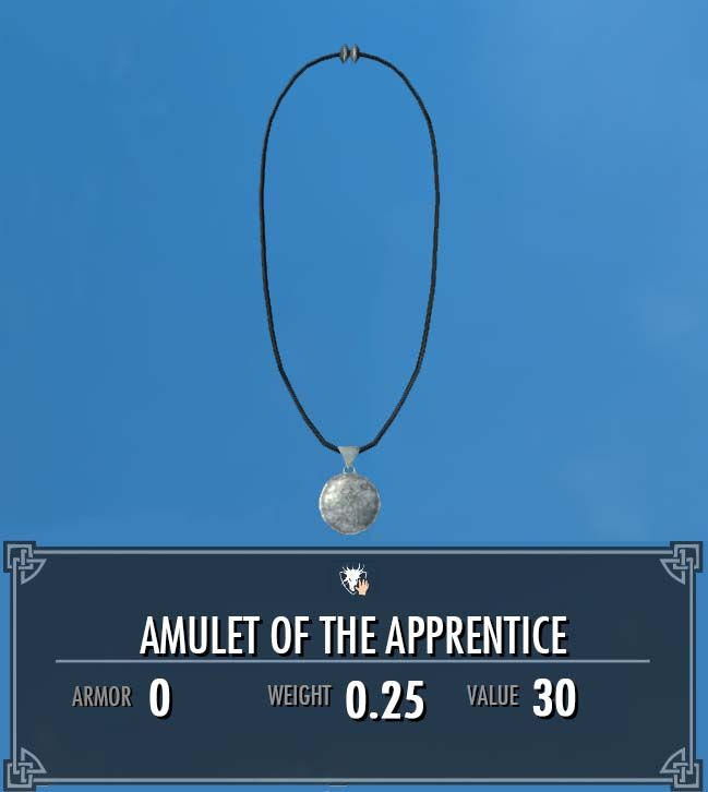 Amulet of the Apprentice