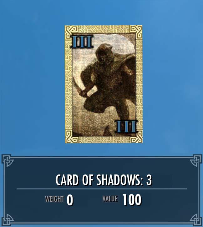Card of Shadows: 3