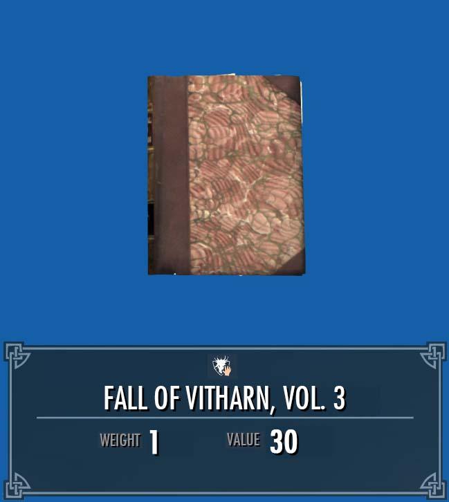Fall of Vitharn, Vol. 3