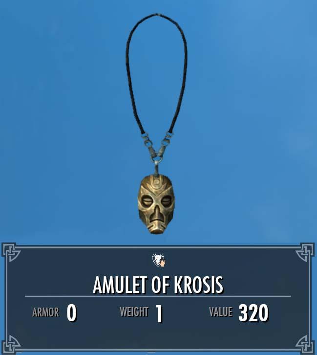 Amulet of Krosis