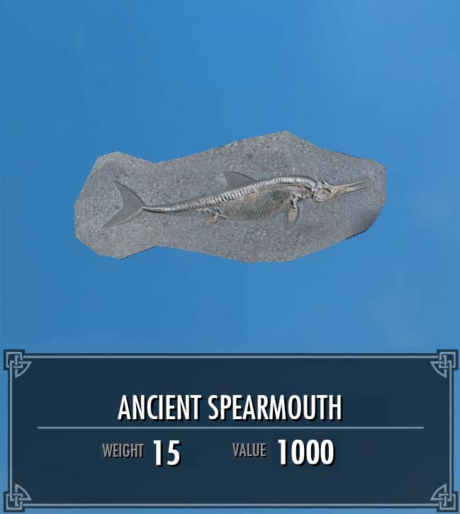 Ancient Spearmouth Female