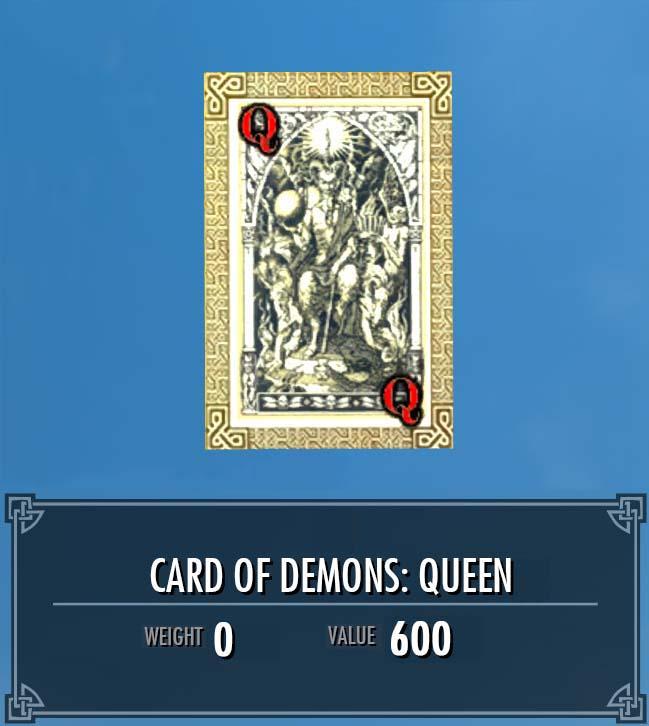 Card of Demons: Queen