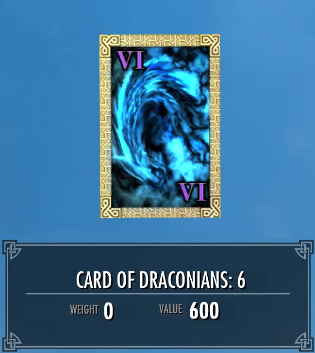 Card of Draconians: 6