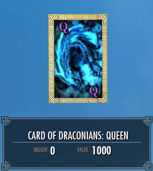 Card of Draconians: Queen