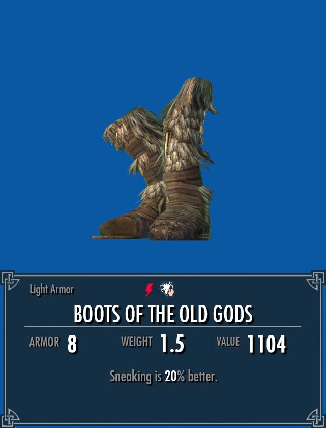 Boots of the Old Gods