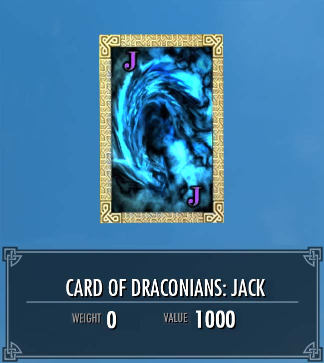 Card of Draconians: Jack