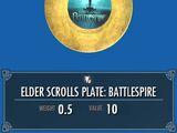 Elder Scrolls Plate: Battlespire
