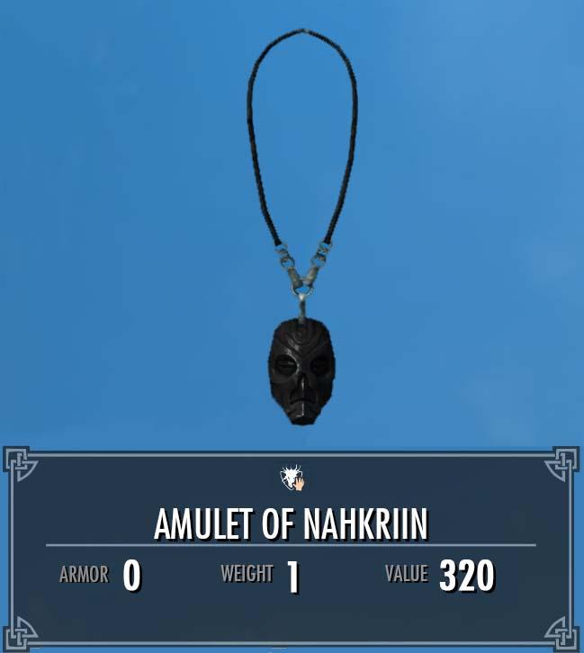 Amulet of Nahkriin