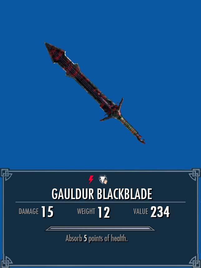 Gauldur Blackblade