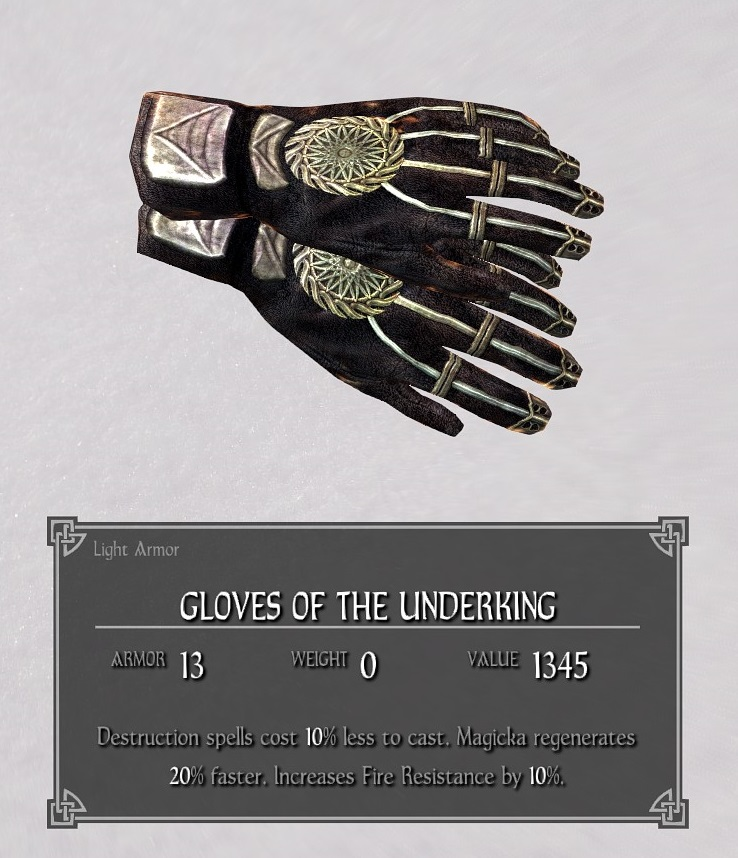 Gloves of the Underking
