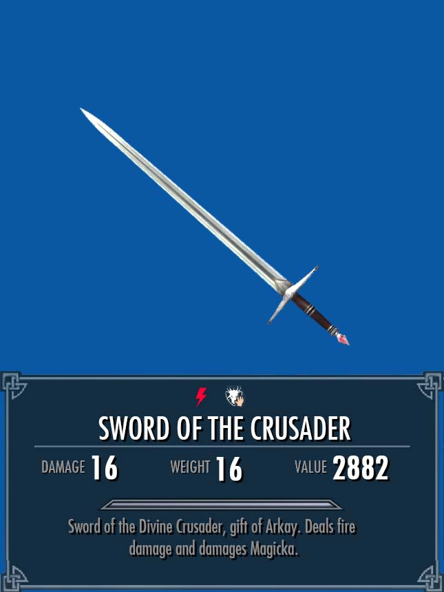 Sword of the Crusader