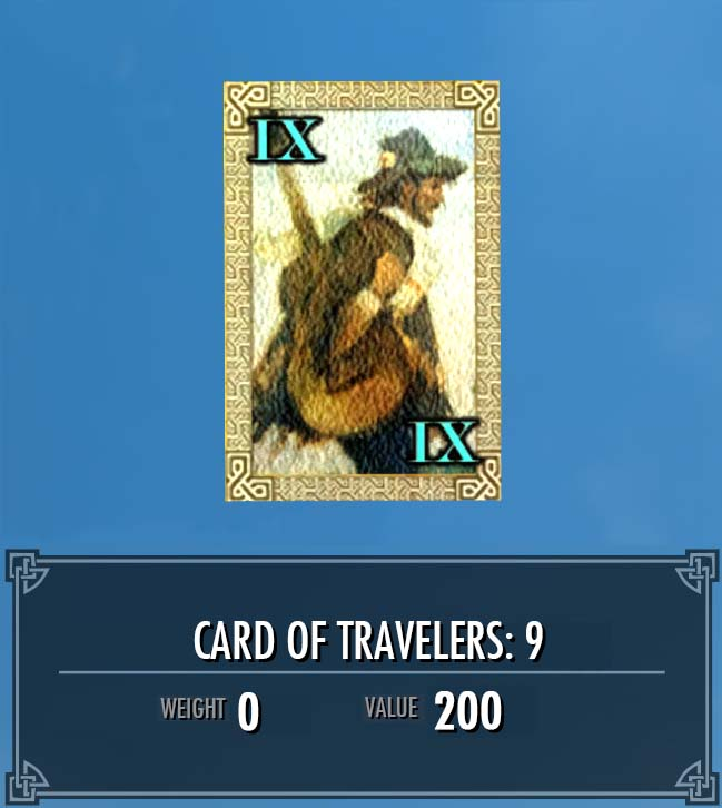 Card of Travelers: 9