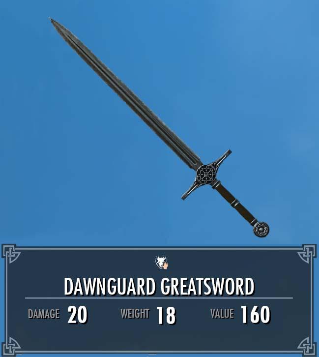 Dawnguard Greatsword