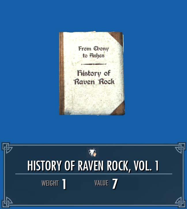 History of Raven Rock, Vol. 1