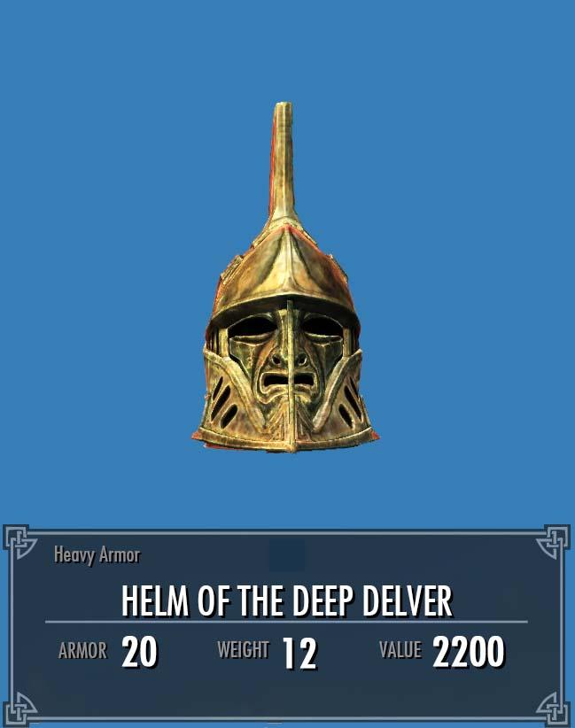 Helm of the Deep Delver
