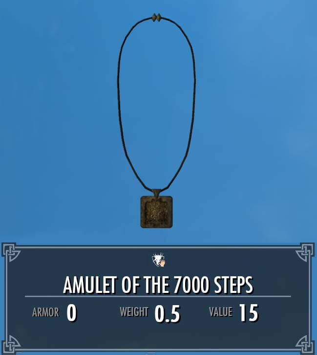 Amulet of the 7000 Steps