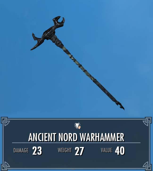 Ancient Nord Warhammer