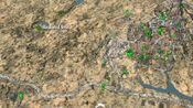 Bleakwind Basin on map
