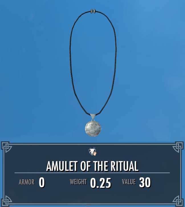 Amulet of the Ritual