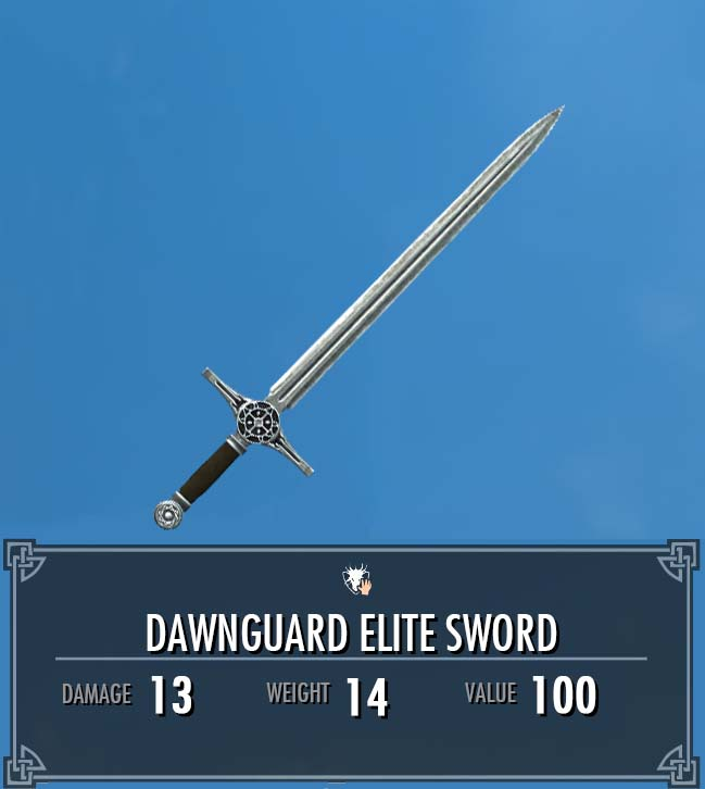 Dawnguard Elite Sword