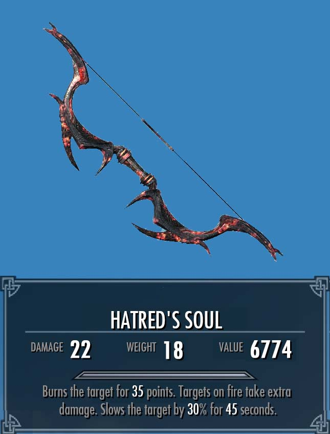 Hatred's Soul (More Interesting Loot)