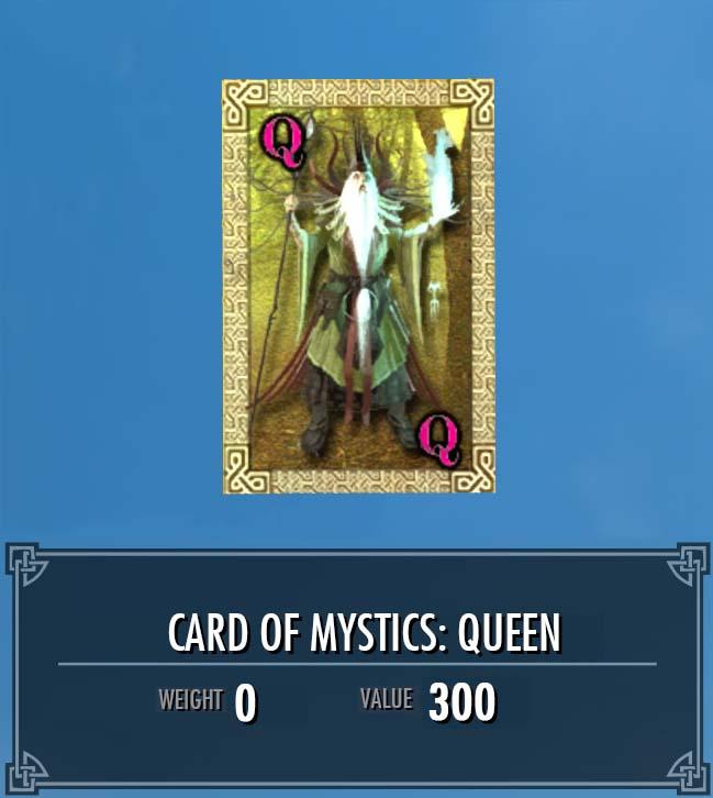 Card of Mystics: Queen