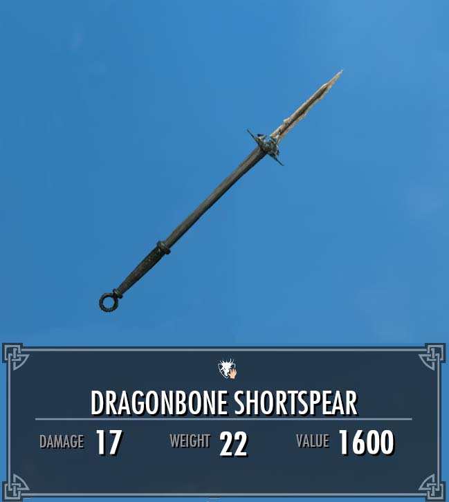 Dragonbone Shortspear