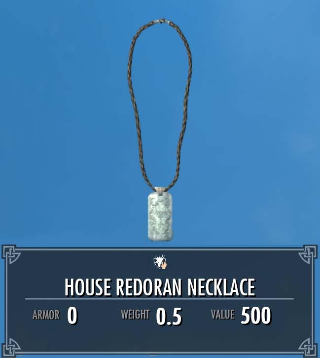 House Redoran Necklace