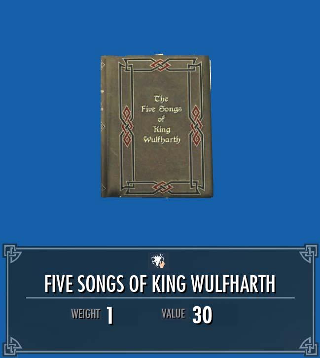 Five Songs of King Wulfharth