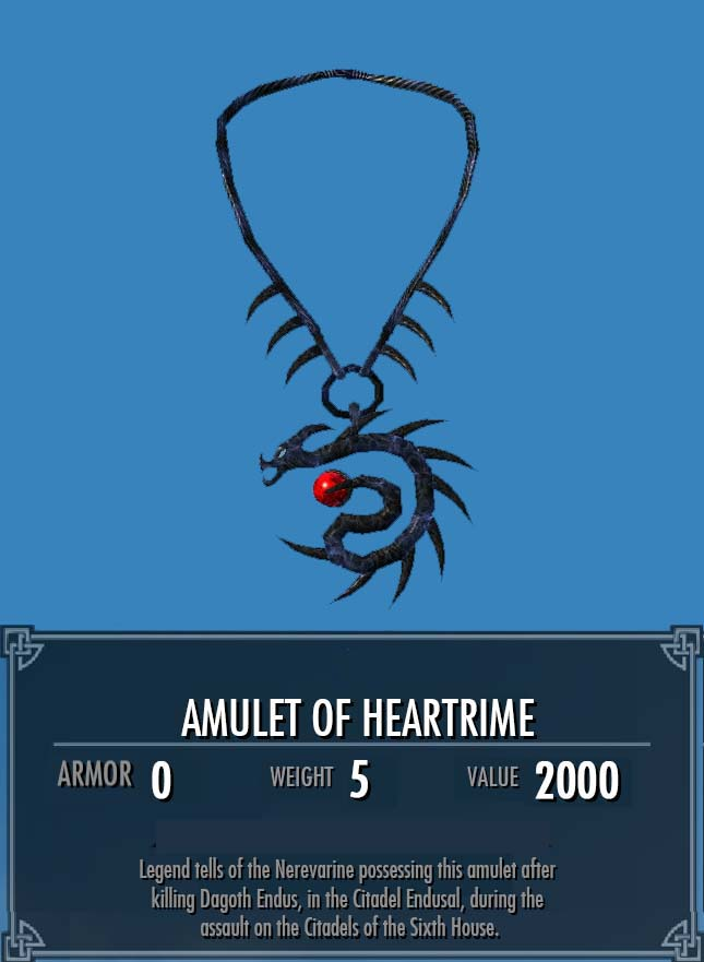Amulet of Heartrime